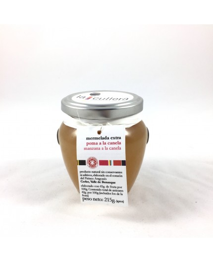 Mermelada de manzana y canela La Cullera