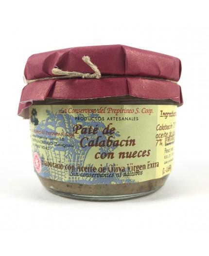 Paté de calabacín con nueces de Uncastillo