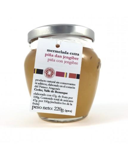 Mermelada de piña con jengibre La Cullera