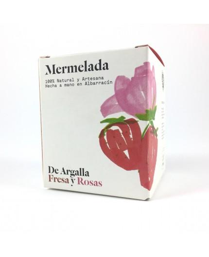 Mermelada de fresa y rosas De Argalla
