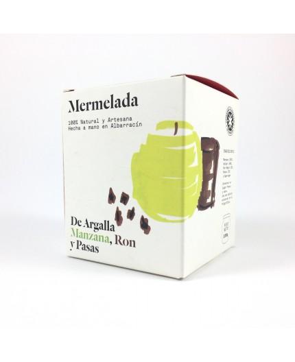 Mermelada de manzana, ron y pasas De Argalla