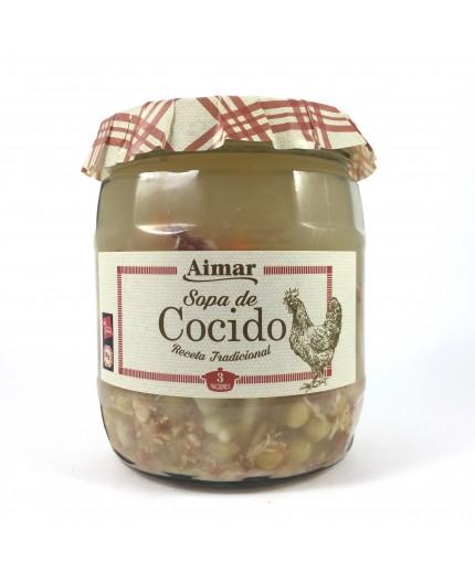 Sopa de cocido Aimar