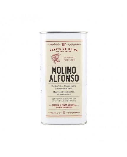 Aceite de oliva virgen extra Molino Alfonso empeltre 1L