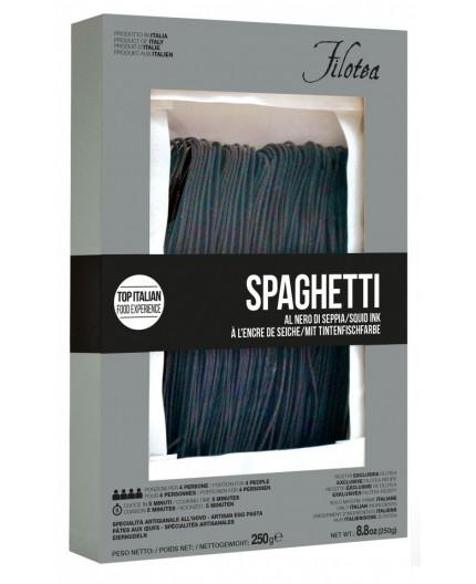 Spaghetti chitarra nero di sepia