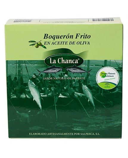 Boquerones fritos La Chanca
