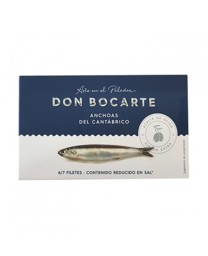 Anchoas del Cantábrico Don Bocarte