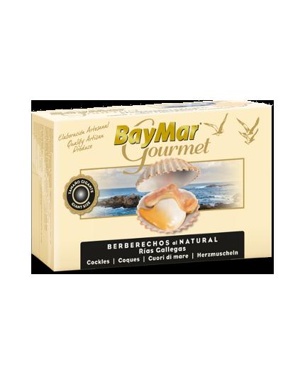 Berberechos al natural de las Rías Baymar Gourmet