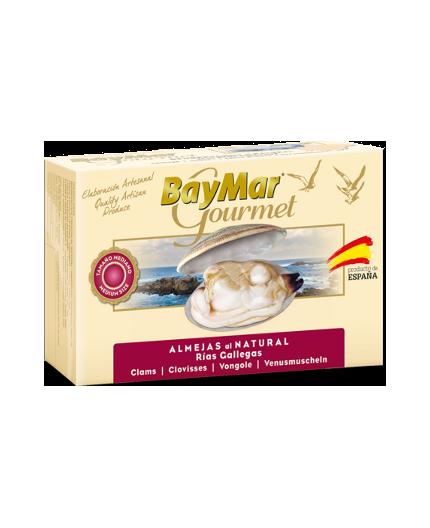 Almejas al natural de las Rías Baymar Gourmet