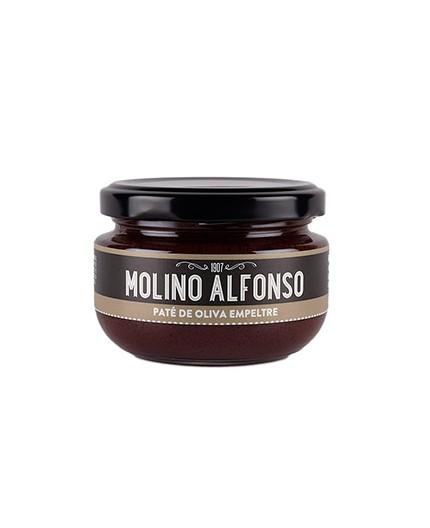 Paté de oliva negra Molino Alfonso