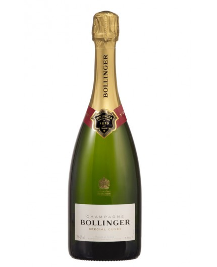 Champagne Bollinger, special cuveé.