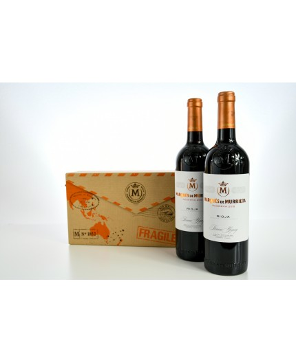 Estuche regalo 2 botellas Marqués de Murrieta