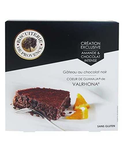 Bizcocho de chocolate intenso Valrhona