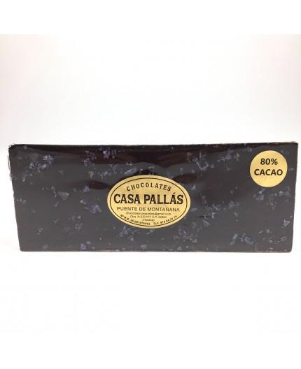 Chocolate negro con sal de vino Pallás