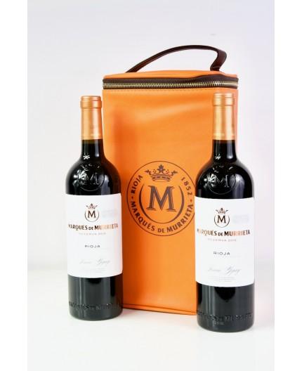 Estuche Marqués de Murrieta 2 botellas