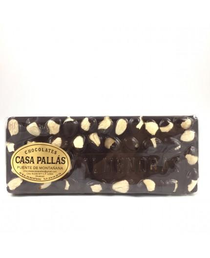 Chocolate negro con almendras Pallás