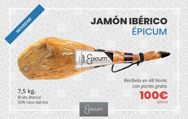Jamón ibérico Epicum